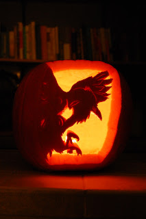 The Raven Boys pumpkin