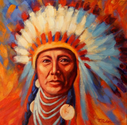 Native American Indian Chief PaintingAmerican Indian Chief