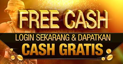Cash Gratis PB Garena Indonesia 100% No Hack/Cheat