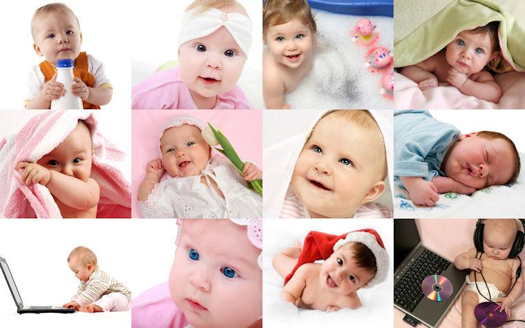 Fotografías de bebés - Babys photographs - Les bébés