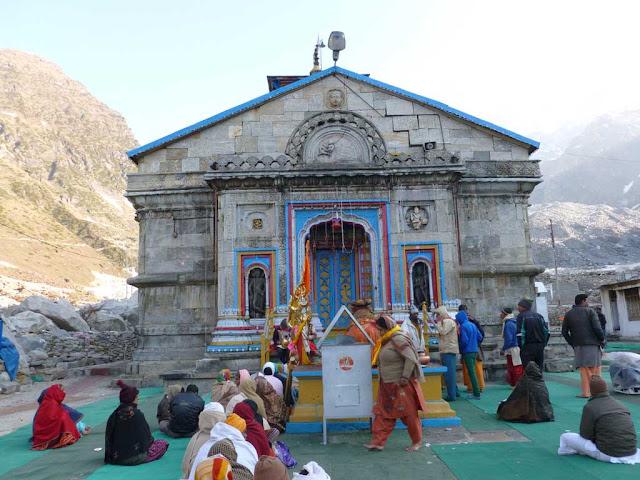 Kedarnath Temple in 2015