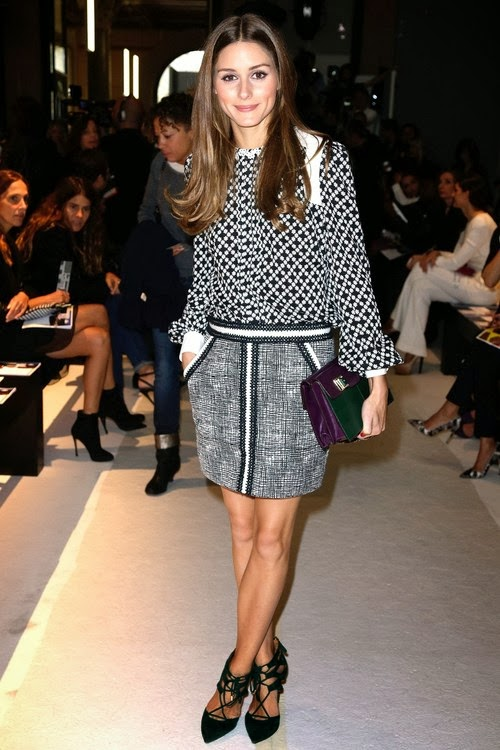 The Olivia Palermo Lookbook Paris Fashion Week Olivia Palermo At Andrew Gn