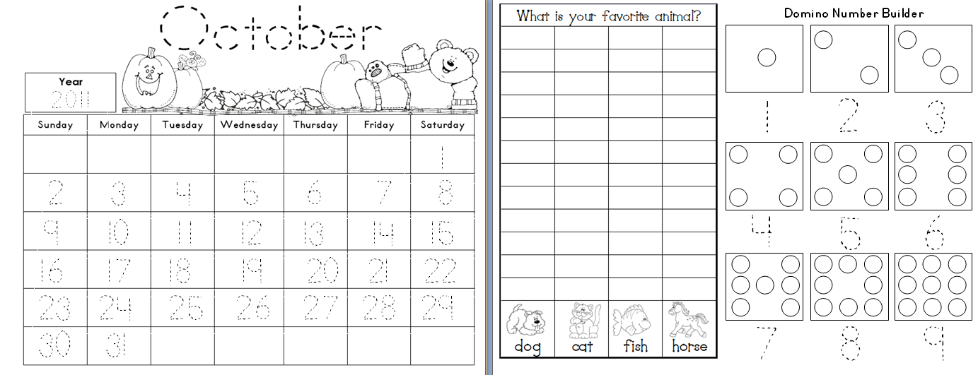 Daily Calendar Journal Kindergarten : Aloha kindergarten calendar math journals