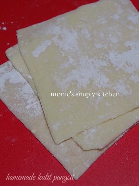 resep kulit pangsit homemade