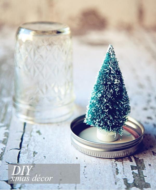 Barattoli di vetro decorati per natale blog di - Vasi decorati fai da te ...