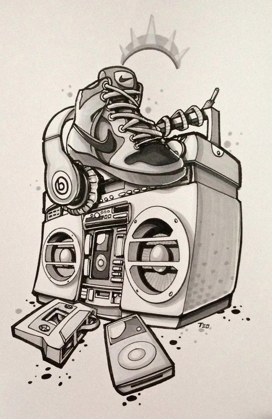 Super La Festa delle Medie: Hip Hop Tattoo RV75