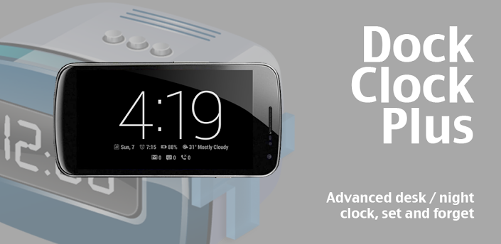Dock Clock Plus