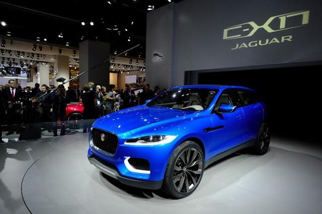 джип новый Jaguar C-X17