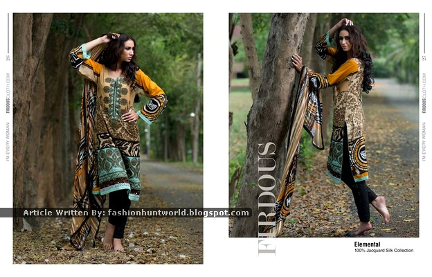 Firdous Fashion New Summer Clothes 2015