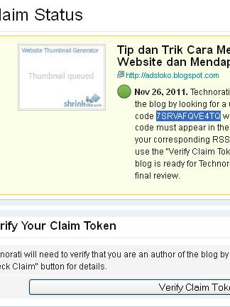 Gambar 2 Kode Claim Token