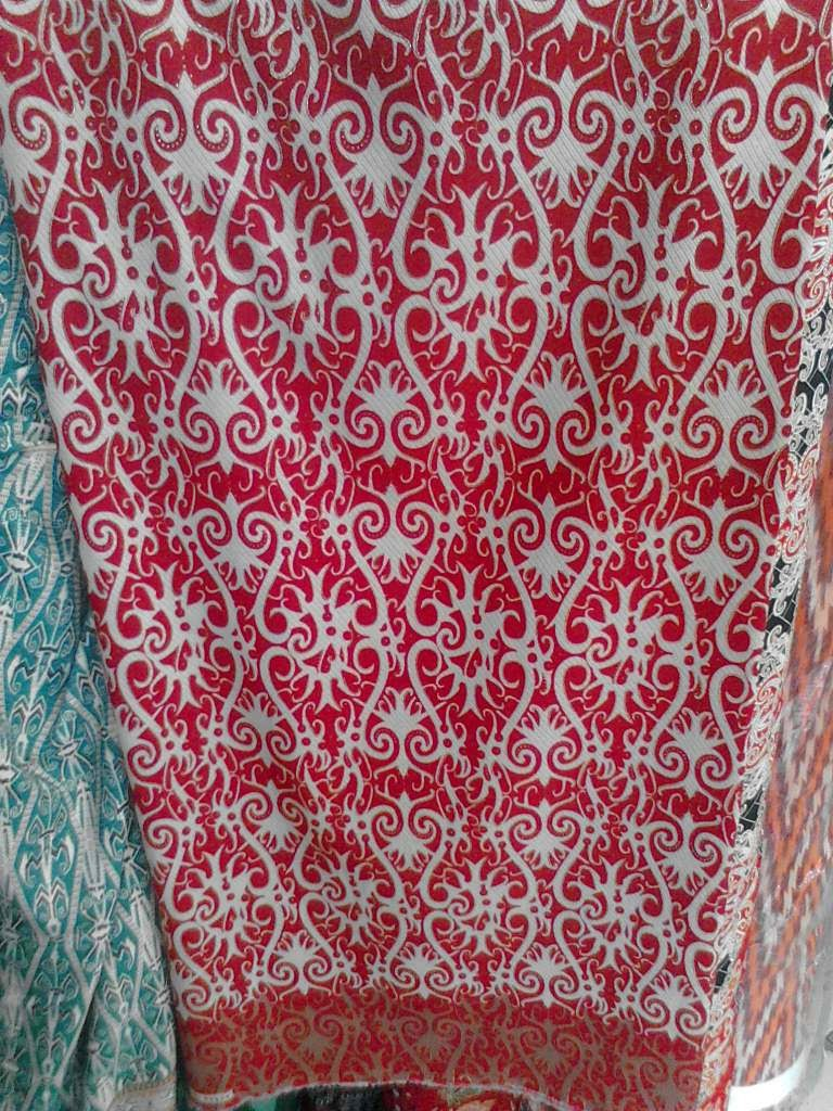 Batik Motif Dayak Khas Kalimantan March 2015