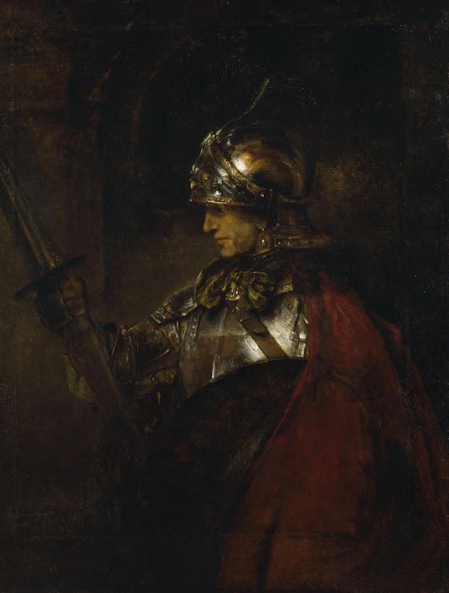 Rembrandt - A Man in Armor
