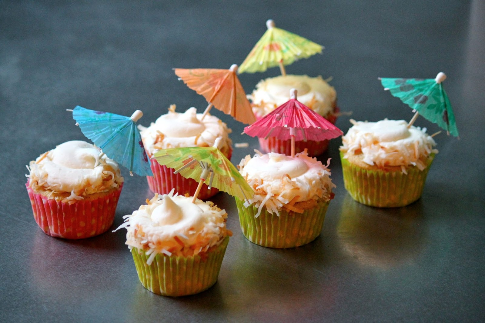 Baked Perfection: Pina Colada Cupcakes