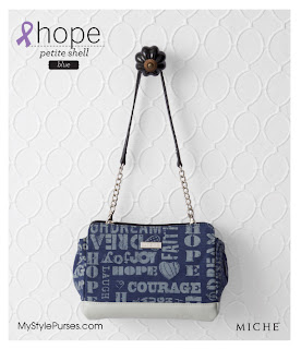 Miche Hope Petite Shell Blue