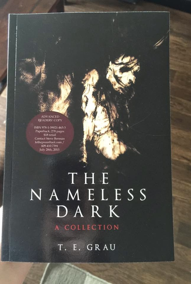ARC copies of THE NAMELESS DARK - A COLLECTION now available for reviewers & media