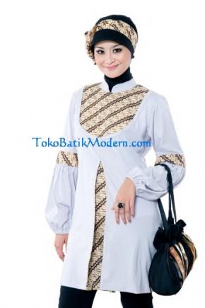 Model Baju Muslim Batik