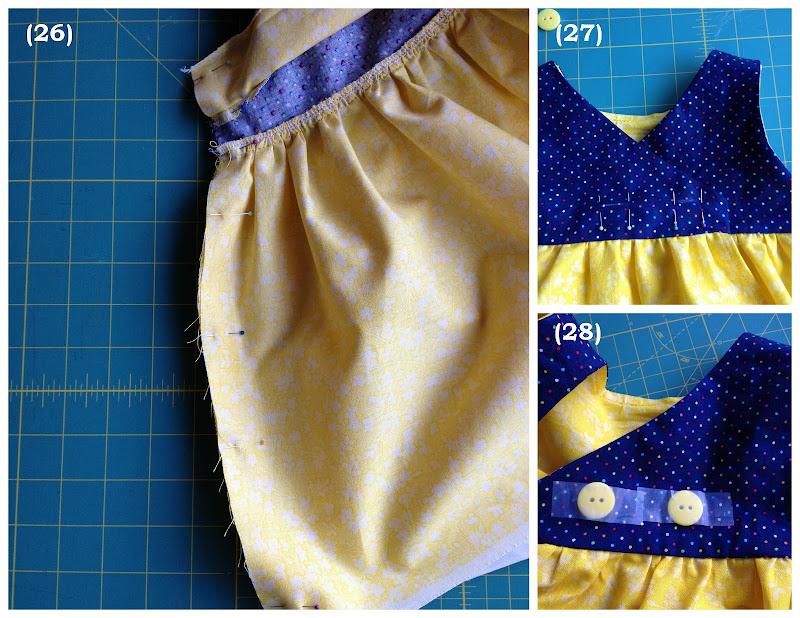 Как строится выкройка: платье для девочки 1 год 48