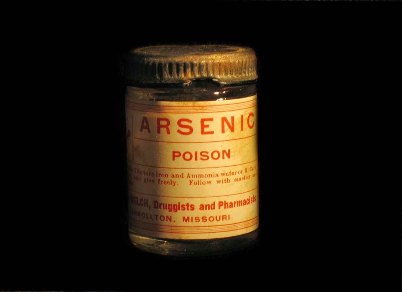 Arsenic poison bottle