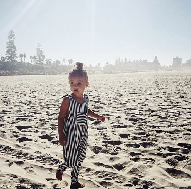 Striped jumpsuit by Duchess and Lion - Cool kidswear made in the USA