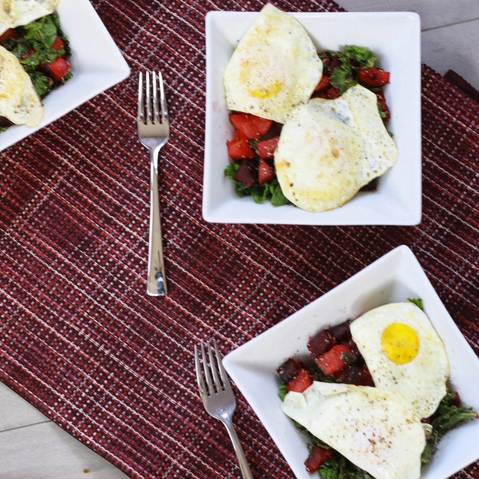 The Sweets Life: Winter Vegetable Hash with Fried Eggs