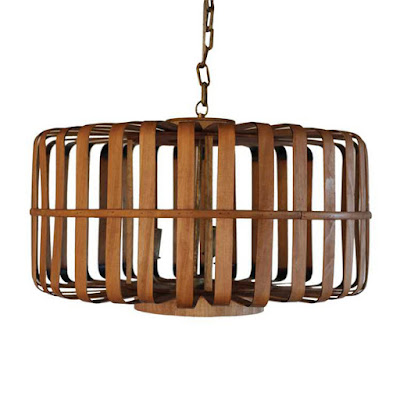 Bamboo Chandelier from Dot & Bo