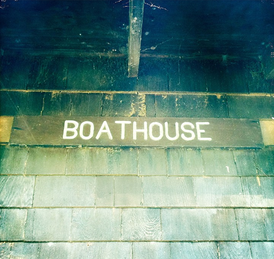 vintage boathouse