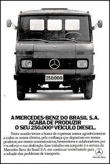 Mercedes-Benz, caminhão, truck, brazilian advertising cars in the 70. os anos 70. história da década de 70; Brazil in the 70s; propaganda carros anos 70; Oswaldo Hernandez;