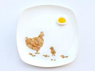 Arte y Originalidad para Platos de Comida