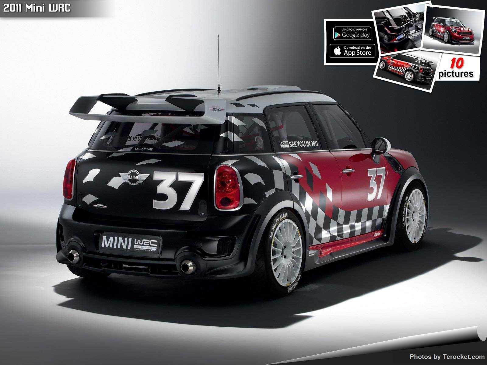 Hình ảnh xe ô tô Mini WRC 2011 & nội ngoại thất