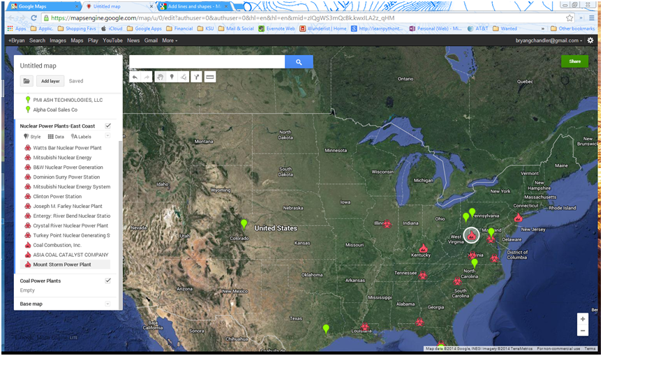 Exporting Google Map Search Results to Excel | GIS Projects