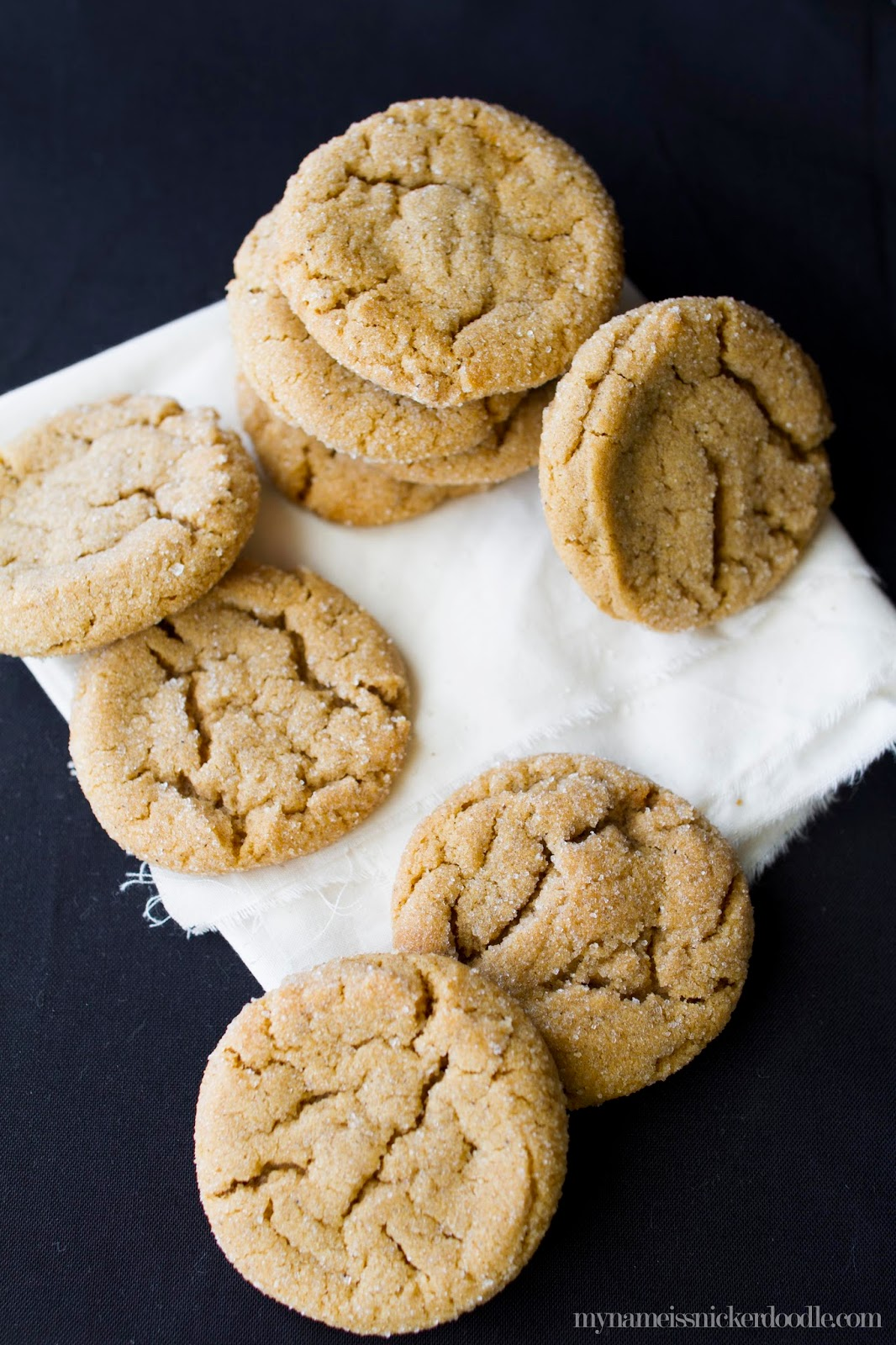 Soft and Chewy Ginger Cookies | My Name Is Snickerdoodle