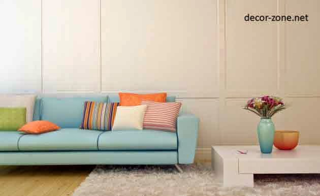 8 modern decorative pillows - how to choose
