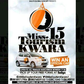Sponsored Ad : MISS TOURISM KWARA 2015