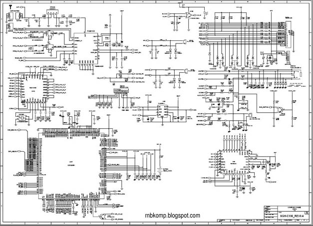 samsung sgh-c130 schematic diagram