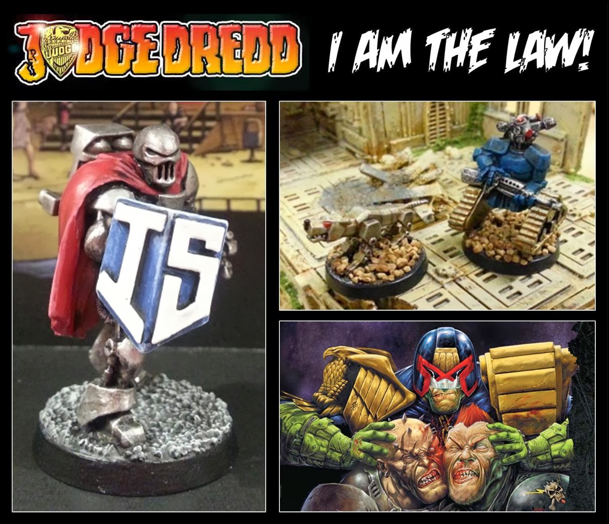 Judge Dredd...