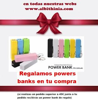 regalo gratis power bank