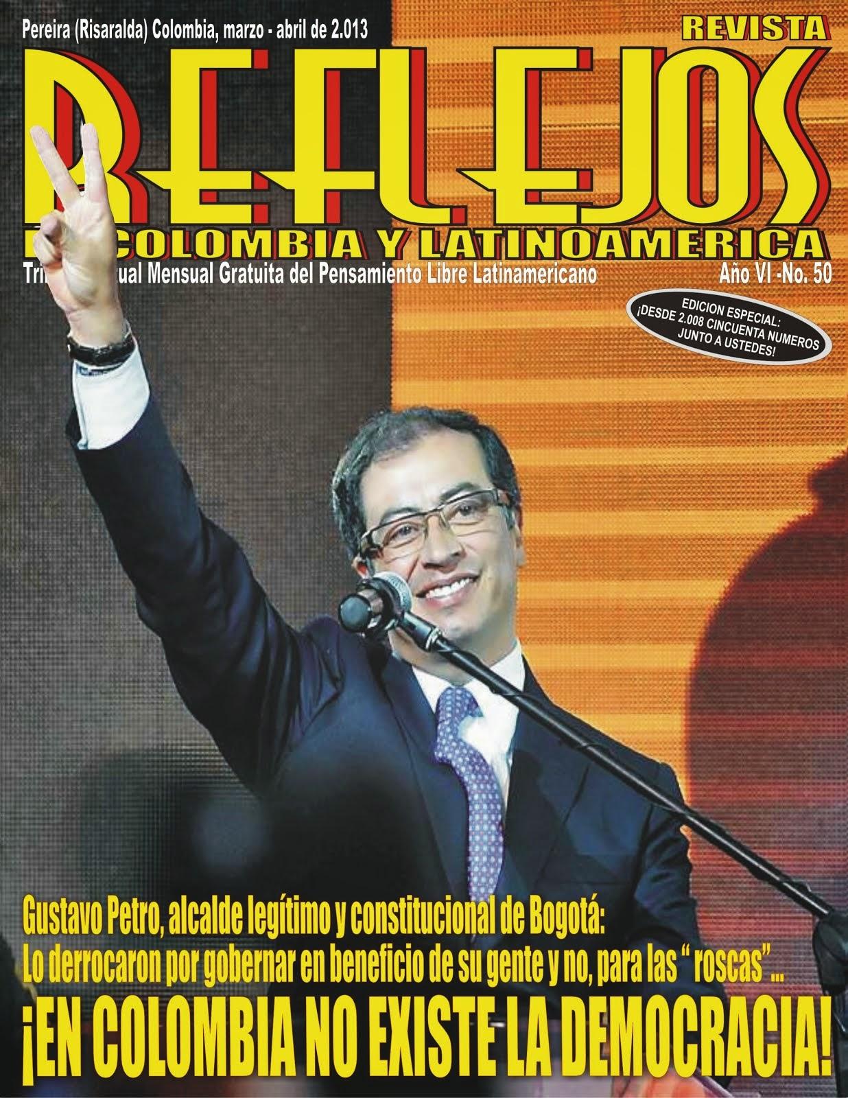 """SALIO Revista """"REFLEJOS DE COLOMBIA Y LATINOAMERICA"""" N° 50"""
