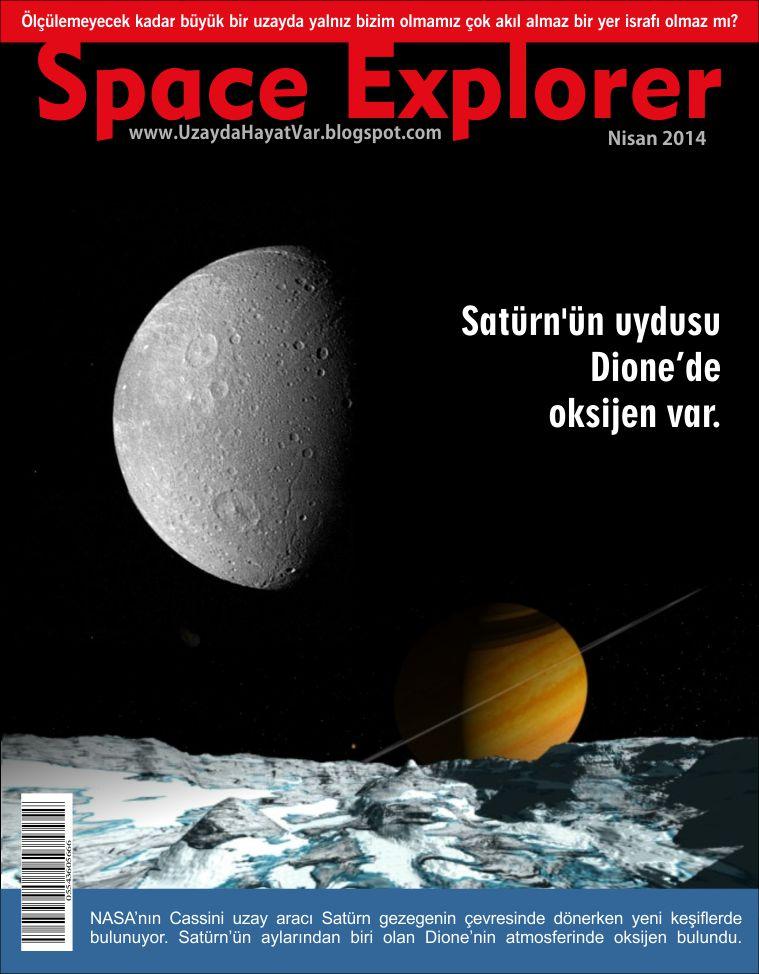 Satürn'ün uydusu Dione'de oksijen var