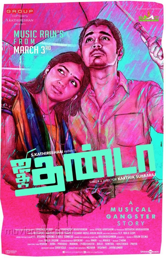 Jigarthanda 2014 Tamil Movie Watch Online