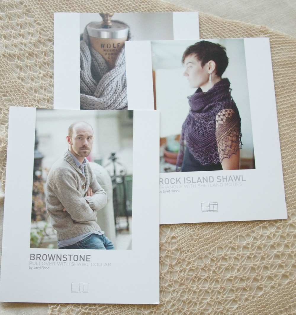 Jared Flood Knitting Patterns : Fancy Tiger Crafts: New! Brooklyn Tweed Patterns by Jared Flood!