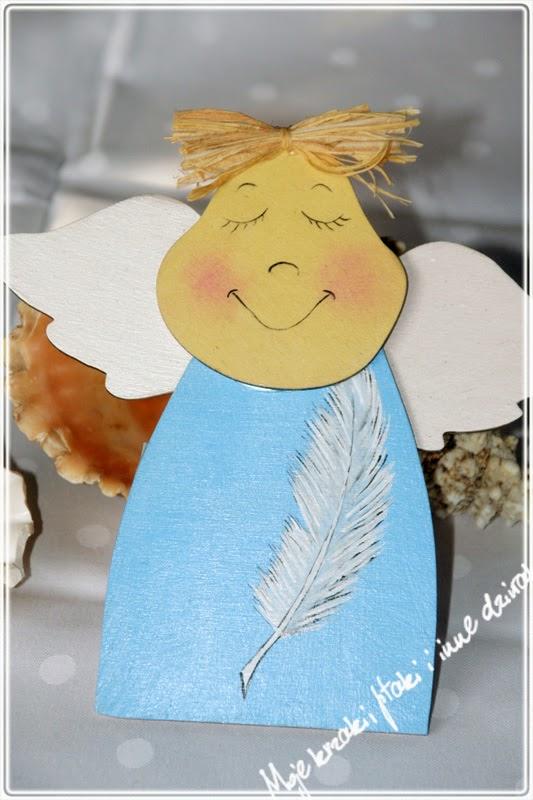 malowany anioł stróż, guardian angel