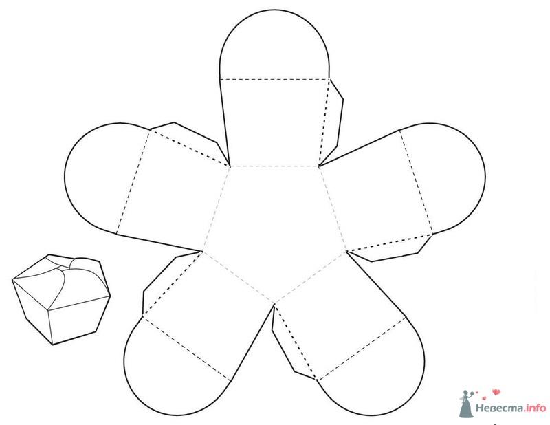 Шаблон коробки для капкейков своими руками 91