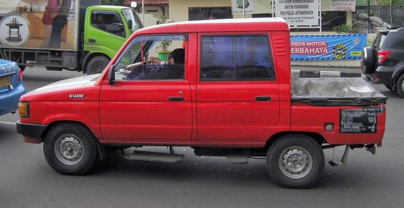Modifikasi Toyota Kijang Pick UP Double Cabin