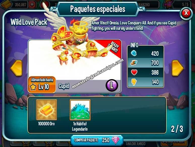 imagen de la oferta especial wild love pack