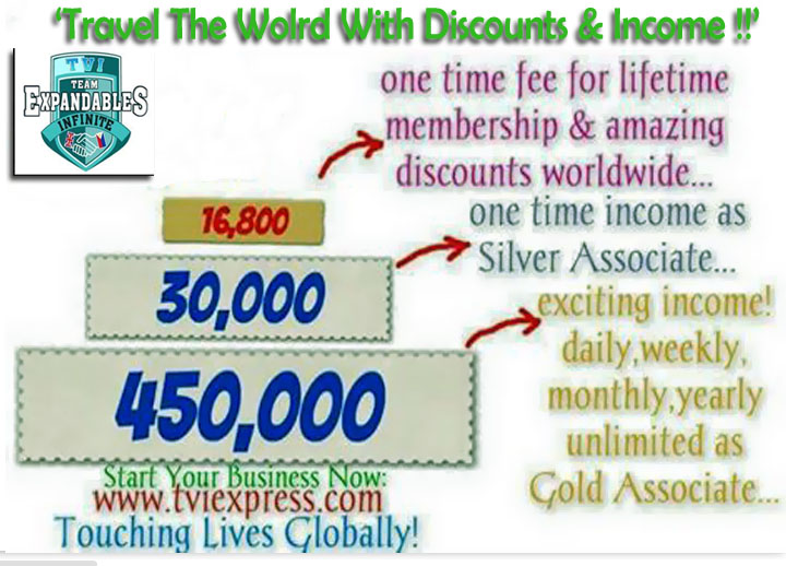 How to make money online it costs p1680000 or so to join travel ventures international or tvi reheart Image collections