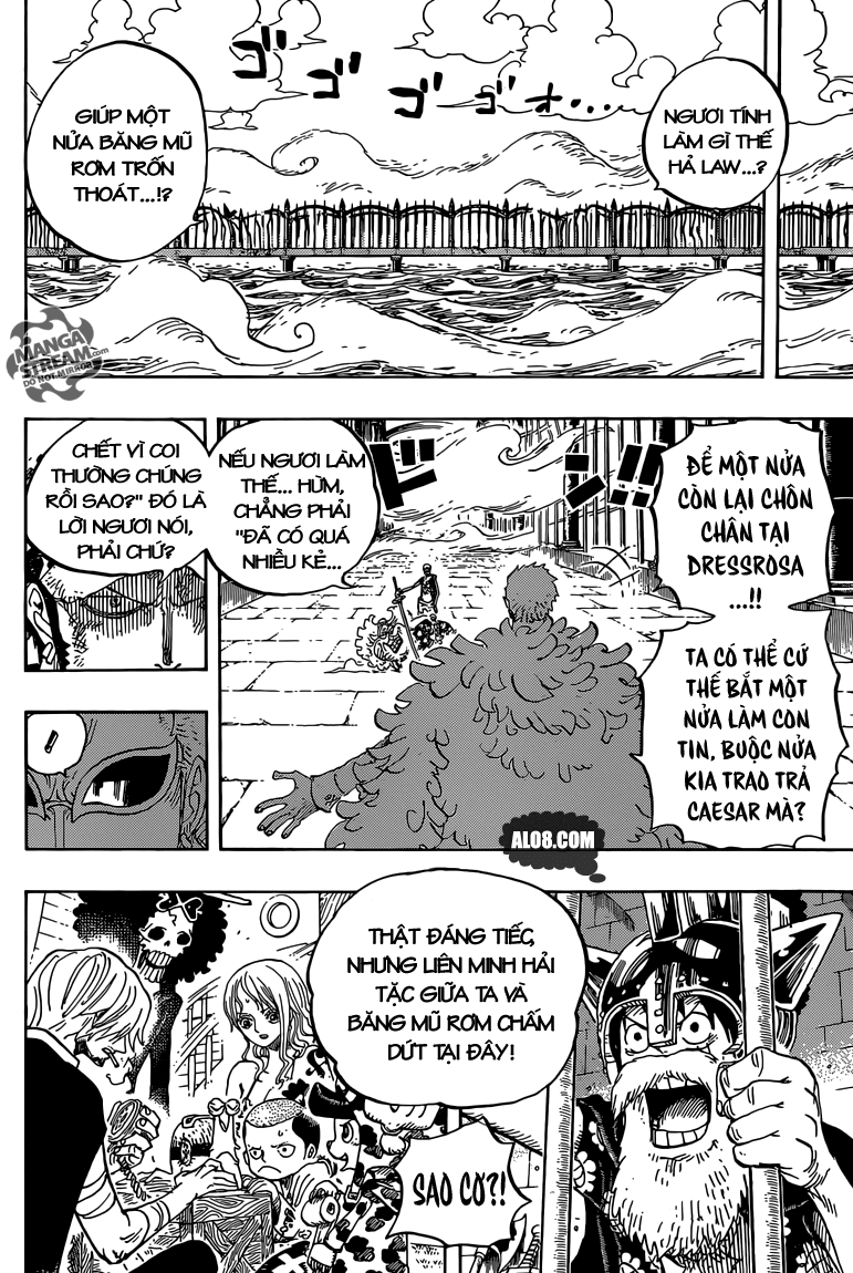 One Piece Chapter 724: Chiến thuật của Law 018