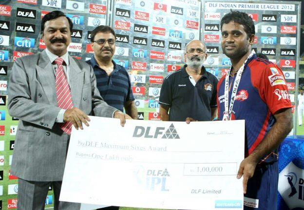 Venugopal-Rao-DLF-maximum-sixes-v-CSK