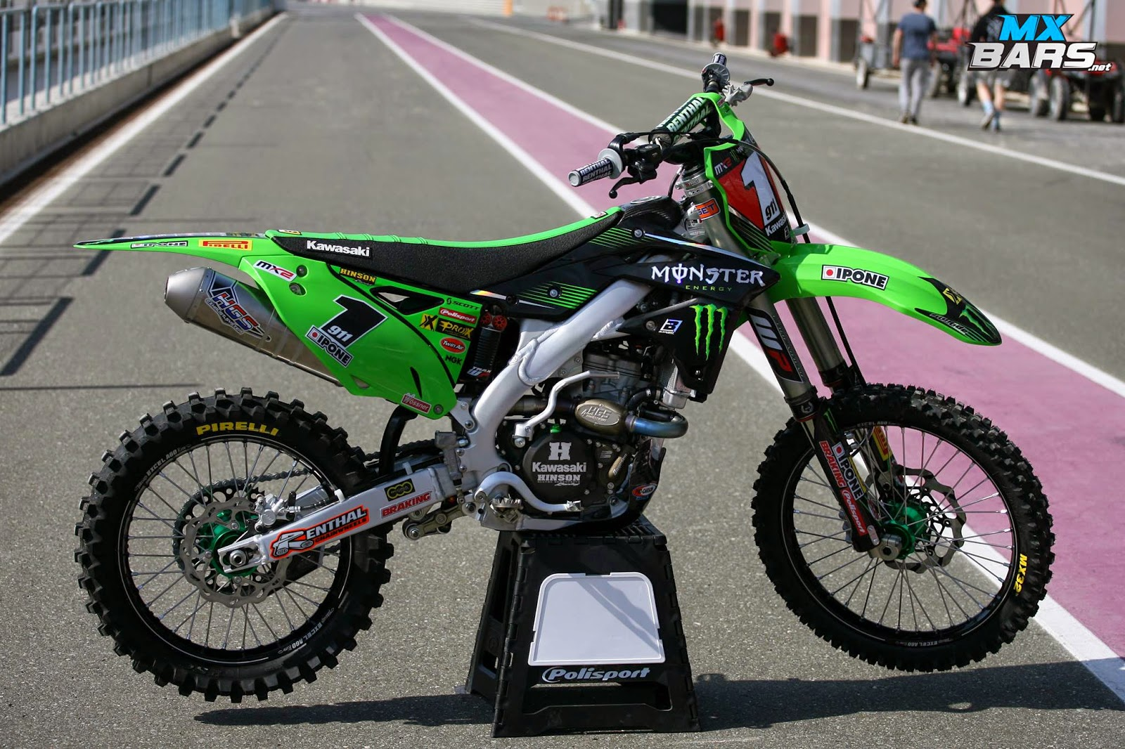 Racing Cafè: Kawasaki KX-250F J.Tixier Team Monster Energy Kawasaki