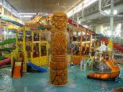 Kalahari's indoor water park, Wisconsin Dells (pa )