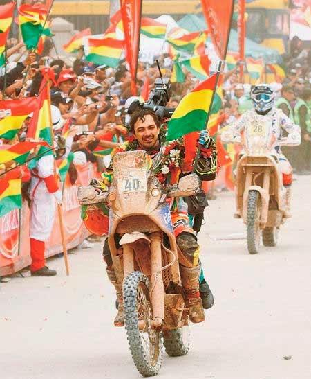 El Chaco boliviano será escenario del Dakar en 2015